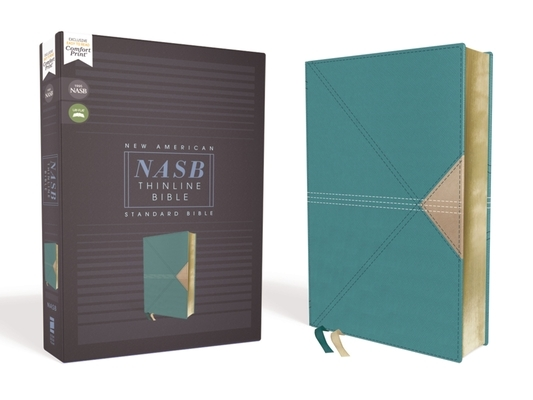 Nasb, Thinline Bible, Leathersoft, Teal, Red Letter Edition, 1995 Text, Comfort Print