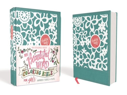 Niv, Beautiful Word Coloring Bible for Girls, Leathersoft Over Board, Teal