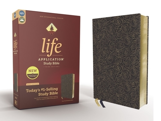 Niv, Life Application Study Bible, Third Edition, Bonded Leather, Navy, Red Letter Edition