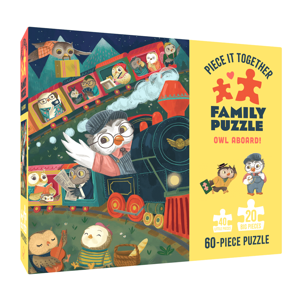 Piece It Together Family Puzzle