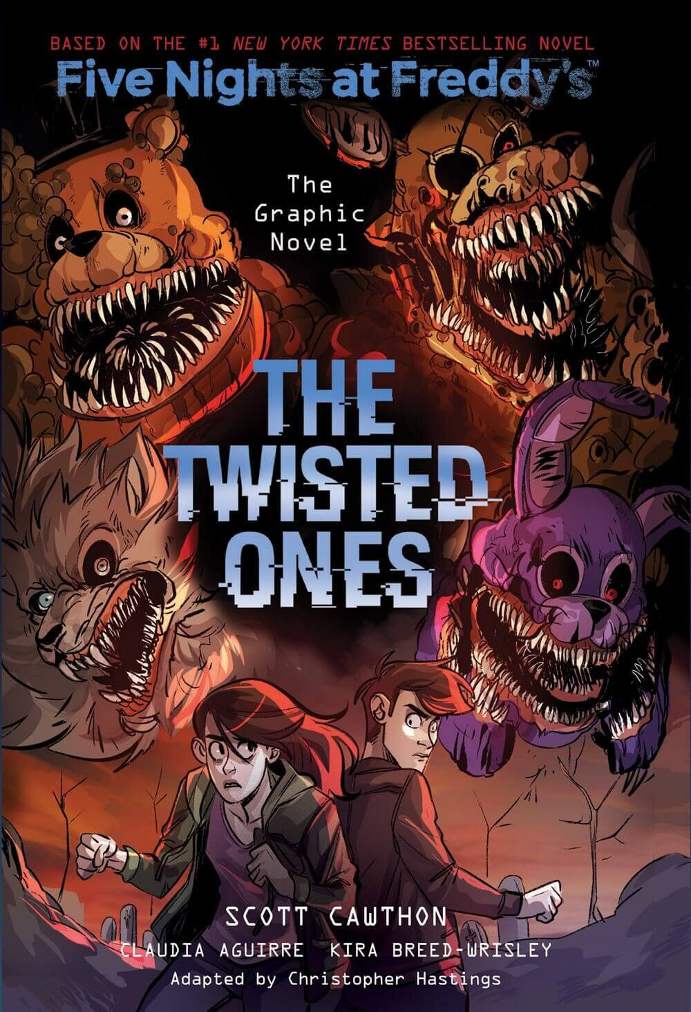 The Twisted Ones (Five Nights at Freddy's Graphic Novel #2)