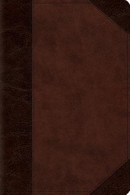 ESV Personal Reference Bible (Trutone, Brown/Walnut, Portfolio Design)