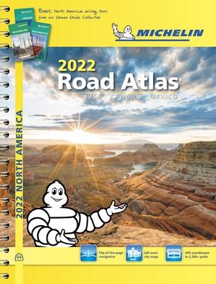 Michelin North America Road Atlas 2022 USA - Canada - Mexico