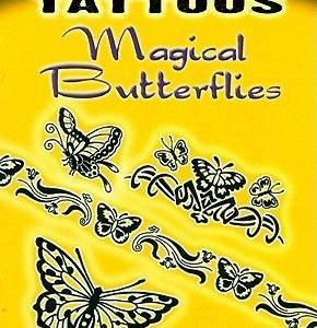 Glow-In-The-Dark Tattoos: Magical Butterflies