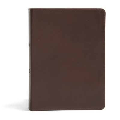 CSB She Reads Truth Bible, Brown Genuine Leather, Indexed: Notetaking Space, Devotionals, Reading Plans, Easy-To-Read Font