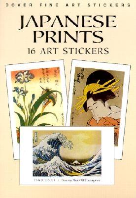 Japanese Prints: 16 Art Stickers