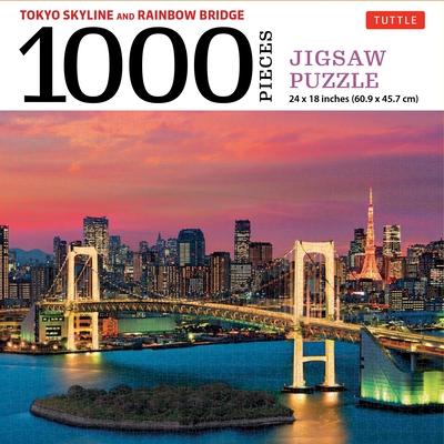 Tokyo Skyline Jigsaw Puzzle - 1,000 Pieces