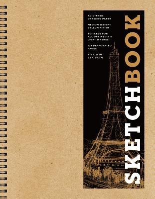 Sketchbook (Basic Large Spiral Kraft), Volume 15