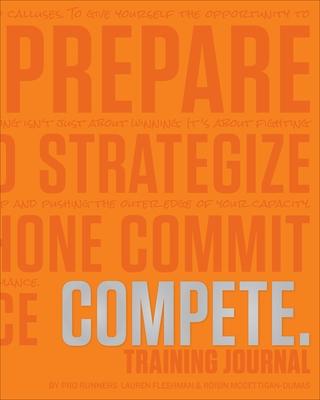 Compete Training Journal (Tangerine Edition)