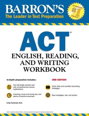 ACT English, Reading, and Writing Workbook