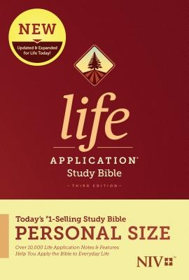NIV Life Application Study Bible, Third Edition, Personal Size (Hardcover)