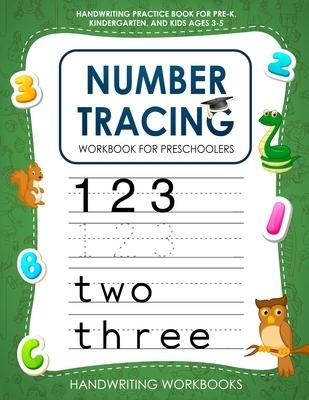 Number Tracing Workbook for Preschoolers