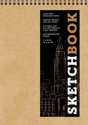 Sketchbook (Basic Medium Spiral Fliptop Landscape Kraft), Volume 19