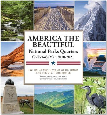 National Parks Quarters Map