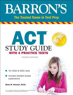 ACT Study Guide with 4 Practice Tests