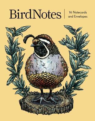 Birdnotes (16 Notecards, 8 Original Designs)