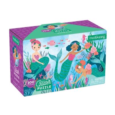 Mermaids Glitter Puzzle