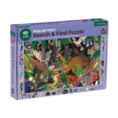 Woodland Forest Search & Find Puzzle
