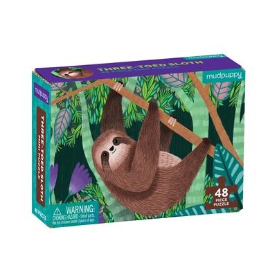 Three-Toed Sloth Mini Puzzle