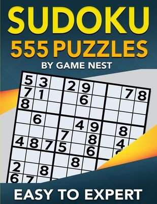 Sudoku 555 Puzzles Easy to Expert