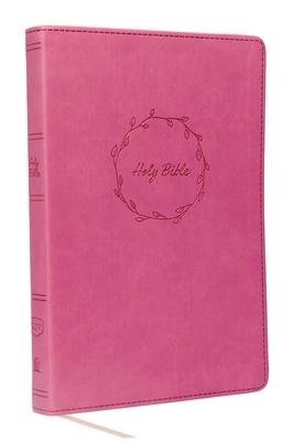 Kjv, Value Thinline Bible, Large Print, Leathersoft, Pink, Red Letter Edition, Comfort Print