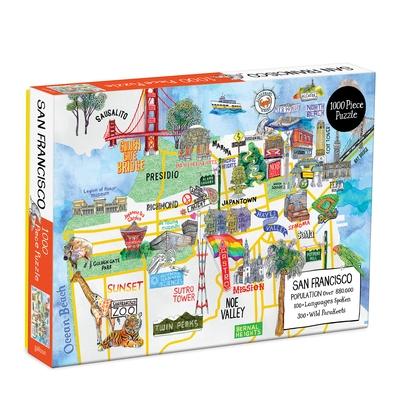 San Francisco 1000 Piece Puzzle