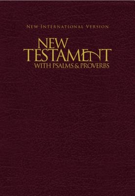 New Testament with Psalms & Proverbs-NIV