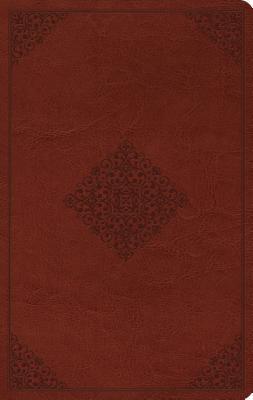 Large Print Value Thinline Bible-ESV-Ornament Design