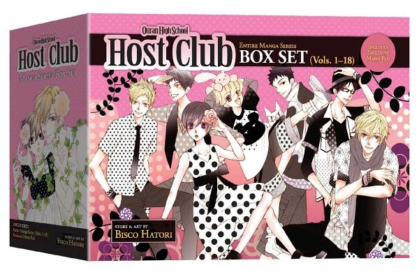Ouran High School Host Club Complete Box Set