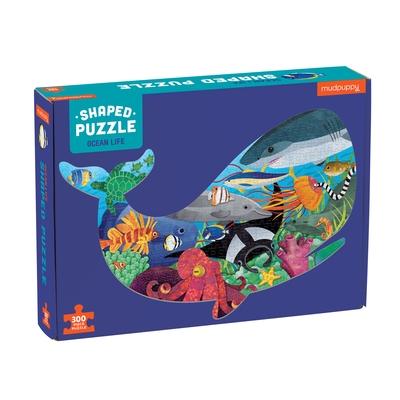 Ocean Life 300 Piece Shaped Scene Puzzle
