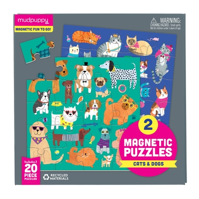 Cats & Dogs Magnetic Puzzles
