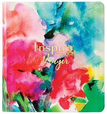 Inspire Prayer Bible NLT (Leatherlike, Joyful Colors with Gold Foil Accents)