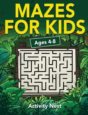 Mazes For Kids Ages 4-8