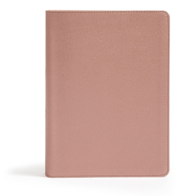 CSB She Reads Truth Bible, Rose Gold Leathertouch, Indexed
