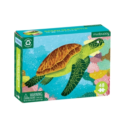 Puz 48 Mini Green Sea Turtle