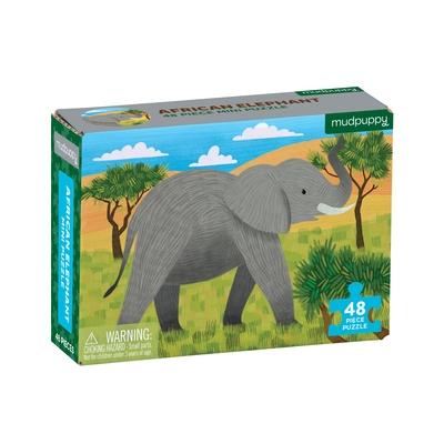 African Elephant Mini Puzzle