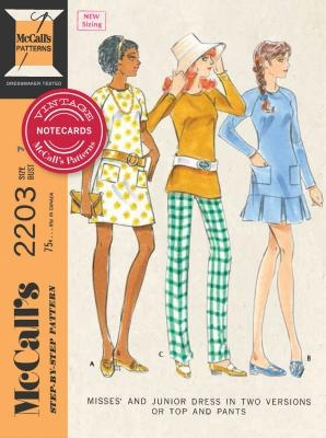 Vintage McCall's Patterns Notecards [With 16 Envelopes]