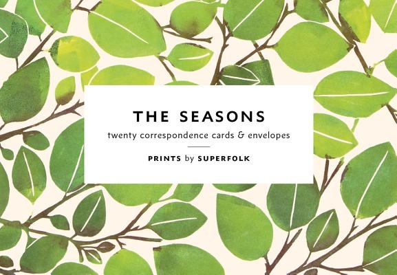 The Seasons Note Cards