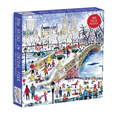 Michael Storrings Bow Bridge in Central Park 500pc Puzzle