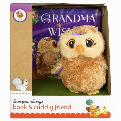 Grandma Wishes Gift Set [With Plush Owl Toy]