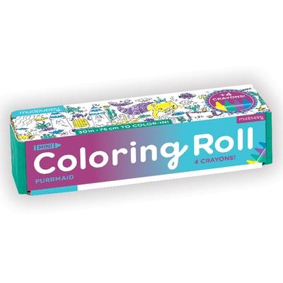 Purrmaid Mini Coloring Roll