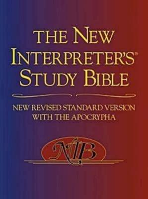 New Interpreter's Study Bible-NRSV