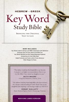 Hebrew-Greek Key Word Study Bible-NKJV