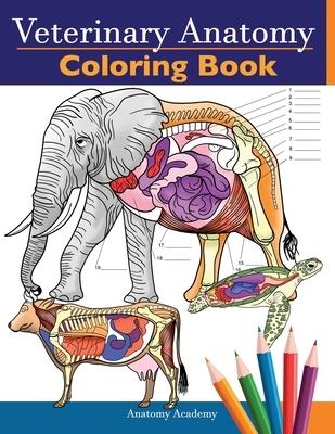 Veterinary Anatomy Coloring Book