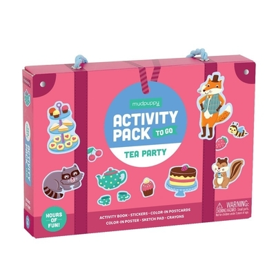 Tea Party Activity Pack to Go