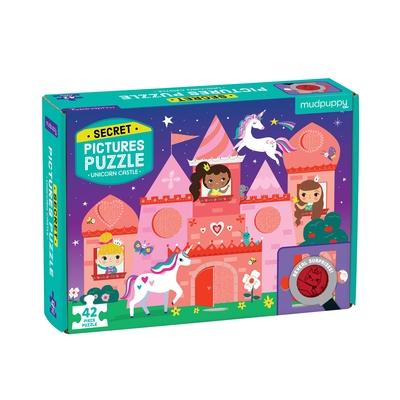 Unicorn Castle Secret Pictures Puzzle