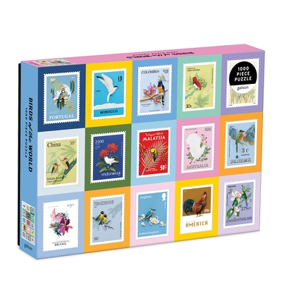 Birds of the World 1000 Piece Puzzle