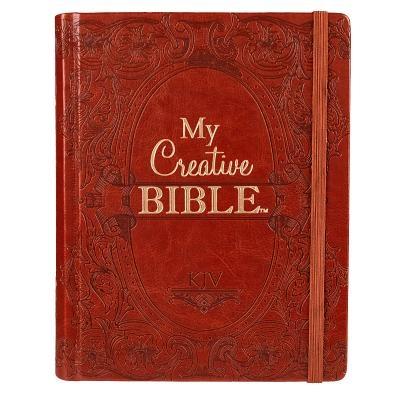 KJV My Creative Bible Brown Lu KJV My Creative Bible Brown Lu