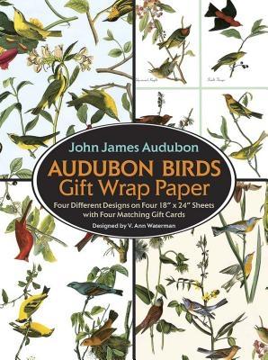Audubon Birds Gift Wrap Paper