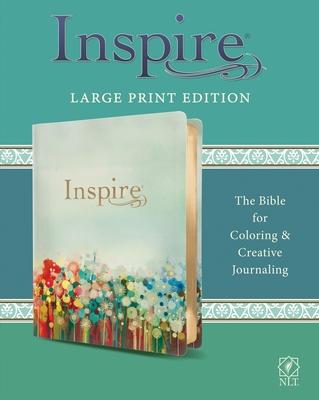Inspire Bible Large Print NLT (Leatherlike, Multicolor)